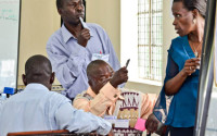 """Teacher training offered by the Varkey GEMS Foundation, in Uganda. """"[I]f business fails to get the best out of the young populations, we will witness the biggest ever lost generation,"""" says Vikas Pota."""