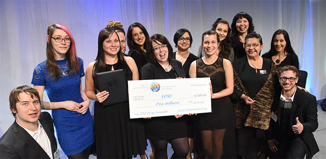$1 Million Arctic Inspiration Prize Awarded to Foxy